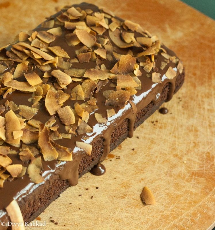 Healthy wholesome chocolate cake-1
